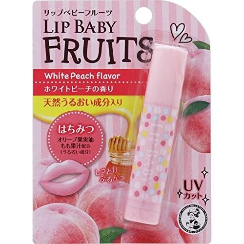 Son dưỡng Mentholatum Lip baby Fruit vị Đào Trắng