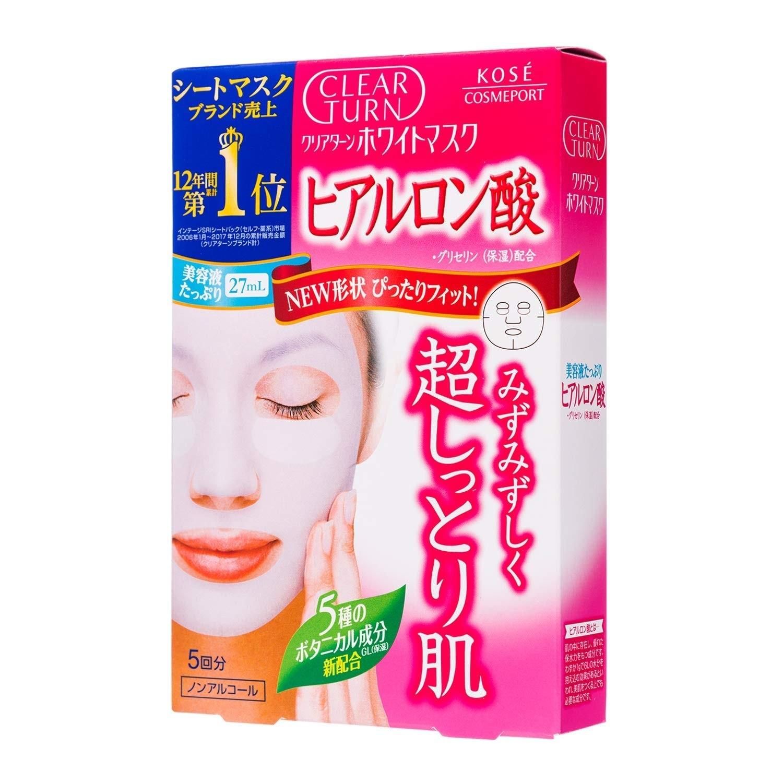 Mặt nạ Kose dưỡng trắng da Hyaluronic Acid