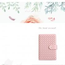 Sổ tay, nhật ký, ghi chú khổ A6, còng 6 lỗ thời trang Nhật Bản