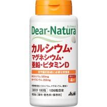 Viên Vitamin tổng hợp ASAHI DEAR NATURA - CANXI- KẼM-VITAMIN D 180 viên